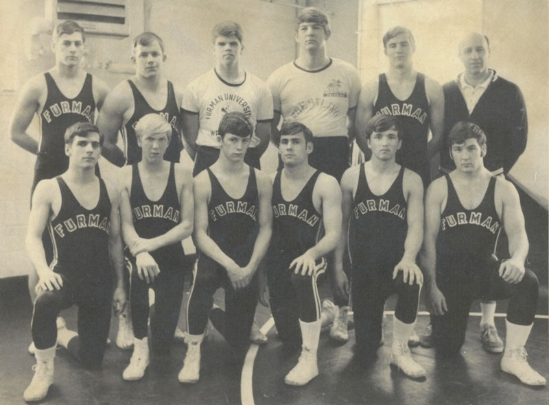 Furman wrestling team 1969-1970